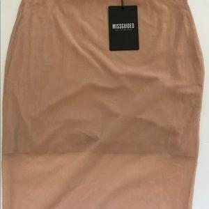 Never before worn Misguided Midi Skirt